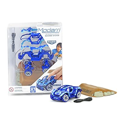 Modarri X1 Midnight Camo car | STEM Educational Toy Cars | Make a Model car - Design Your own Working Race Cars | Fun and Functional Building Toys for Kids | Girls and Boys Gifts Age 5-10: Toys & Games
