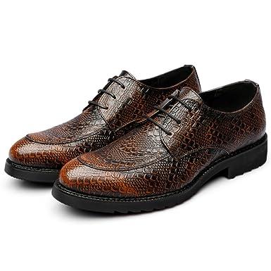 Yra Herren Vintage Schuhe Spitz Business Kleid Schuhe Schnürschuhe Brogue  Derby Für Männer Jobs Bankett  Amazon.de  Bekleidung 52dedac882