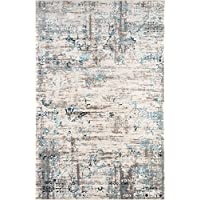 Momeni Rugs JULIEJU-01BLU7696 Juliet Collection Transitional Area Rug, 76 x 96, Blue