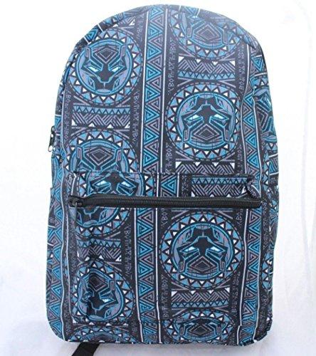 Marvel Black Panther Large Backpack Bookbag Laptop 17