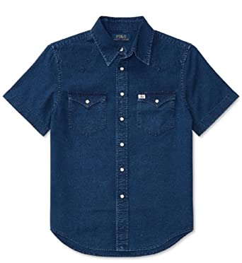 4e3bbe4ad Image Unavailable. Image not available for. Color: Ralph Lauren Boys Cotton  Oxford Shirt ...