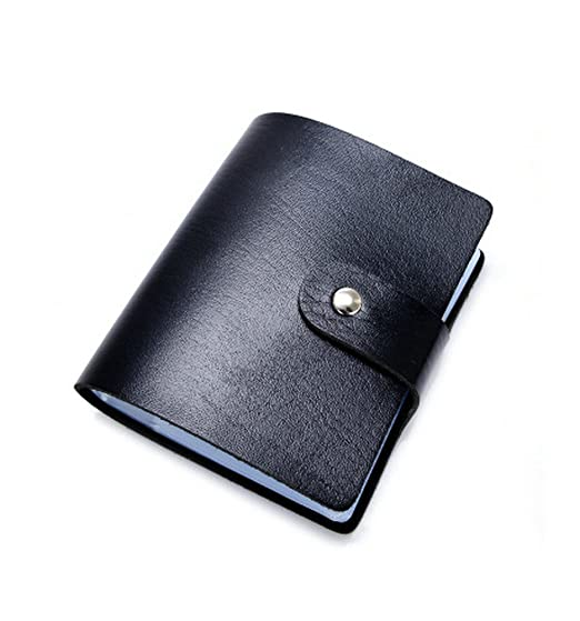 women 60 card slots rfid blocking credit card holder leather business card cases - Business Card Cases