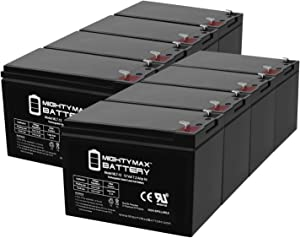 Mighty Max Battery 12V 7Ah Compatible Battery for APC UPS RBC12 RBC26 RBC27-8 Pack Brand Product