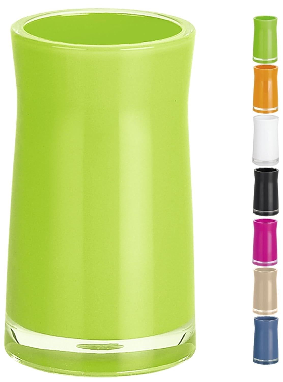 Spirella Sydney 10.15367 - Bicchiere porta spazzolini, in acrilico, colore: Kiwi Spirella GmbH