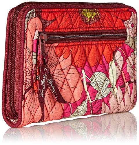 Turnlock Wallet Bohemian Blooms, One Size by Vera Bradley (Image #2)