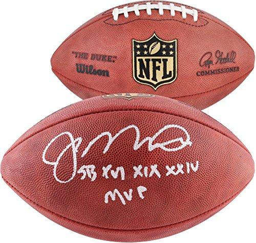 Joe Montana San Francisco 49ers Autographed Duke Pro Football with SB MVP Inscription - Fanatics Authentic Certified