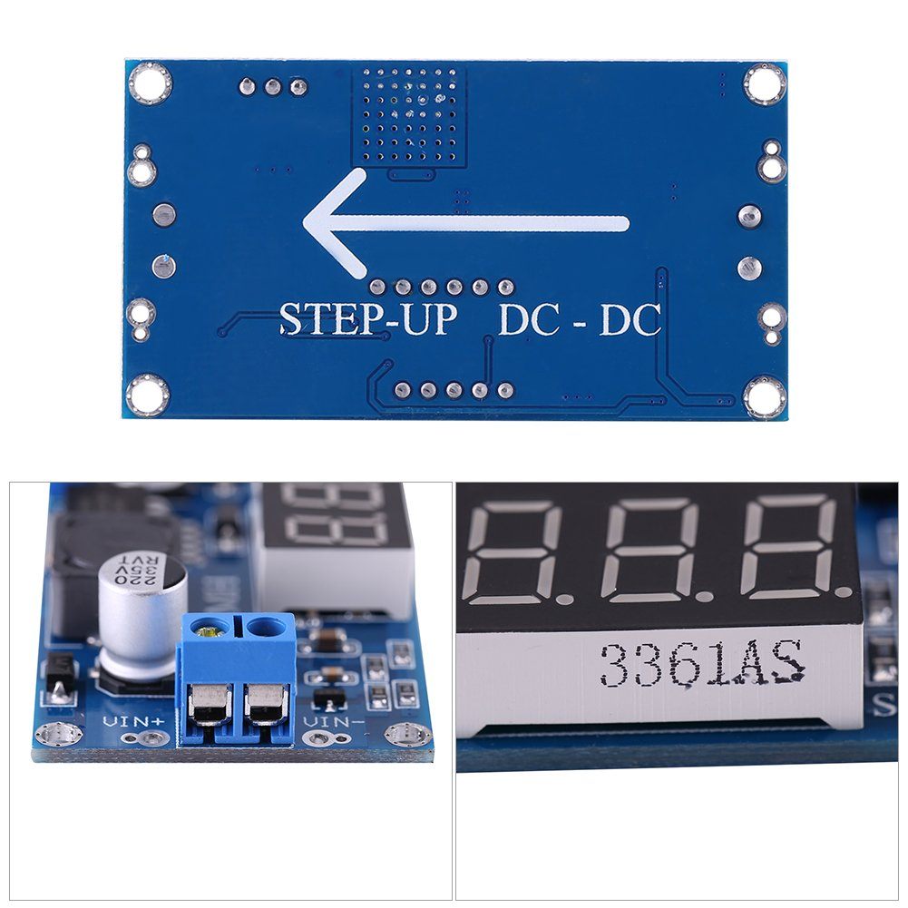 DC-DC Boost Converter 4.5V-32V to 5V-35V Power Supply Step Up Module