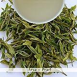 Arya Pearl | Darjeeling First Flush 2018 | White Tea Loose Leaf - 100% Organic- 500gm (17.63 oz) - 250 cups | Sun Dried - Two Leaf and a Bud, AV2 Cultivar | Darjeeling Tea Boutique
