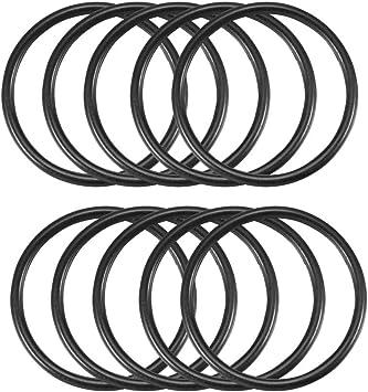 10 Stück Black Rubber Oil Seal O Ring Dichtung Unterlegscheiben 22 Mm X 19 Mm X 1 5 Mm De Baumarkt