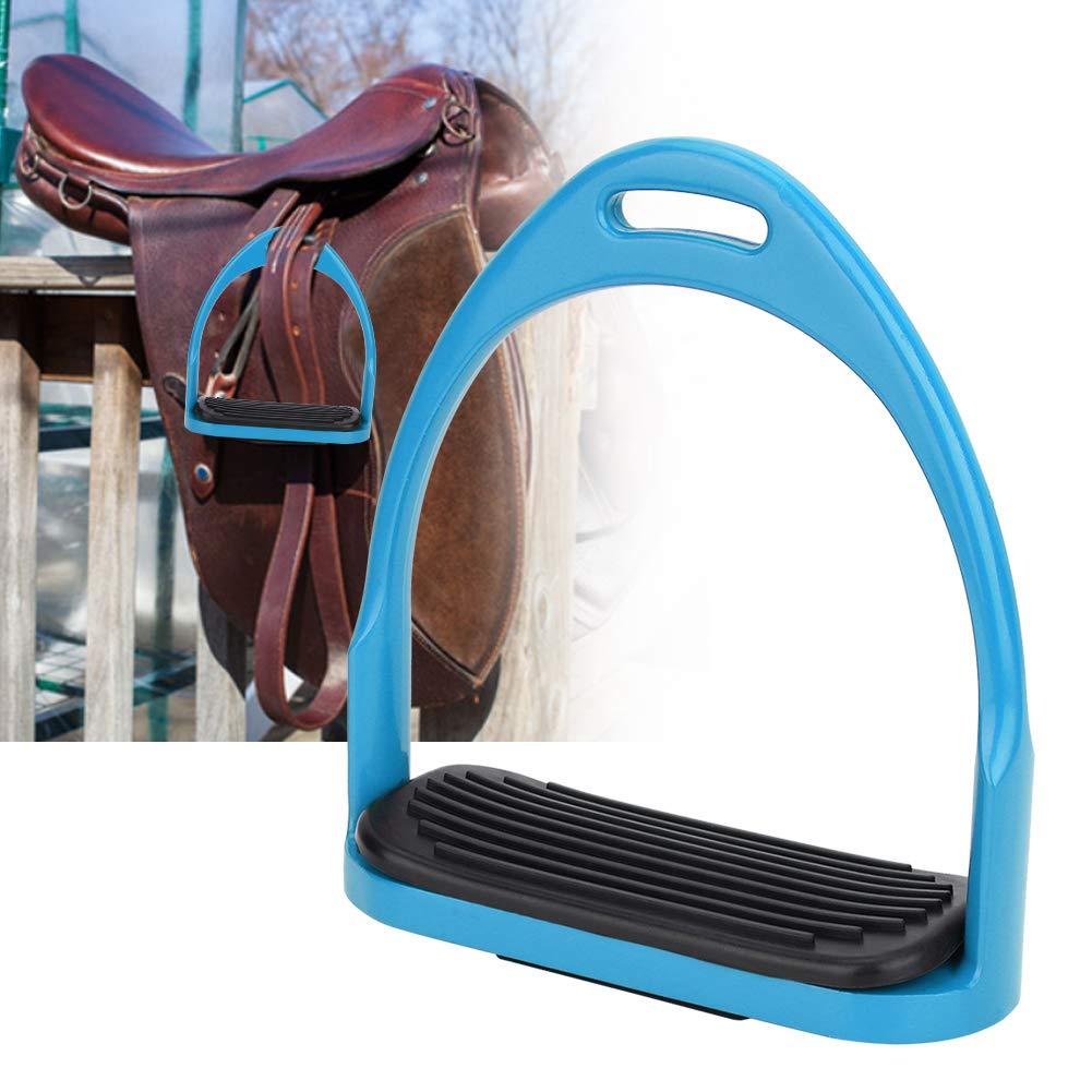 3Colors Stirrups for Saddle Lightweight Safety Horse Saddle English Riding Flex Fillis Aluminum Casting Colored Paint Horse Stirrup