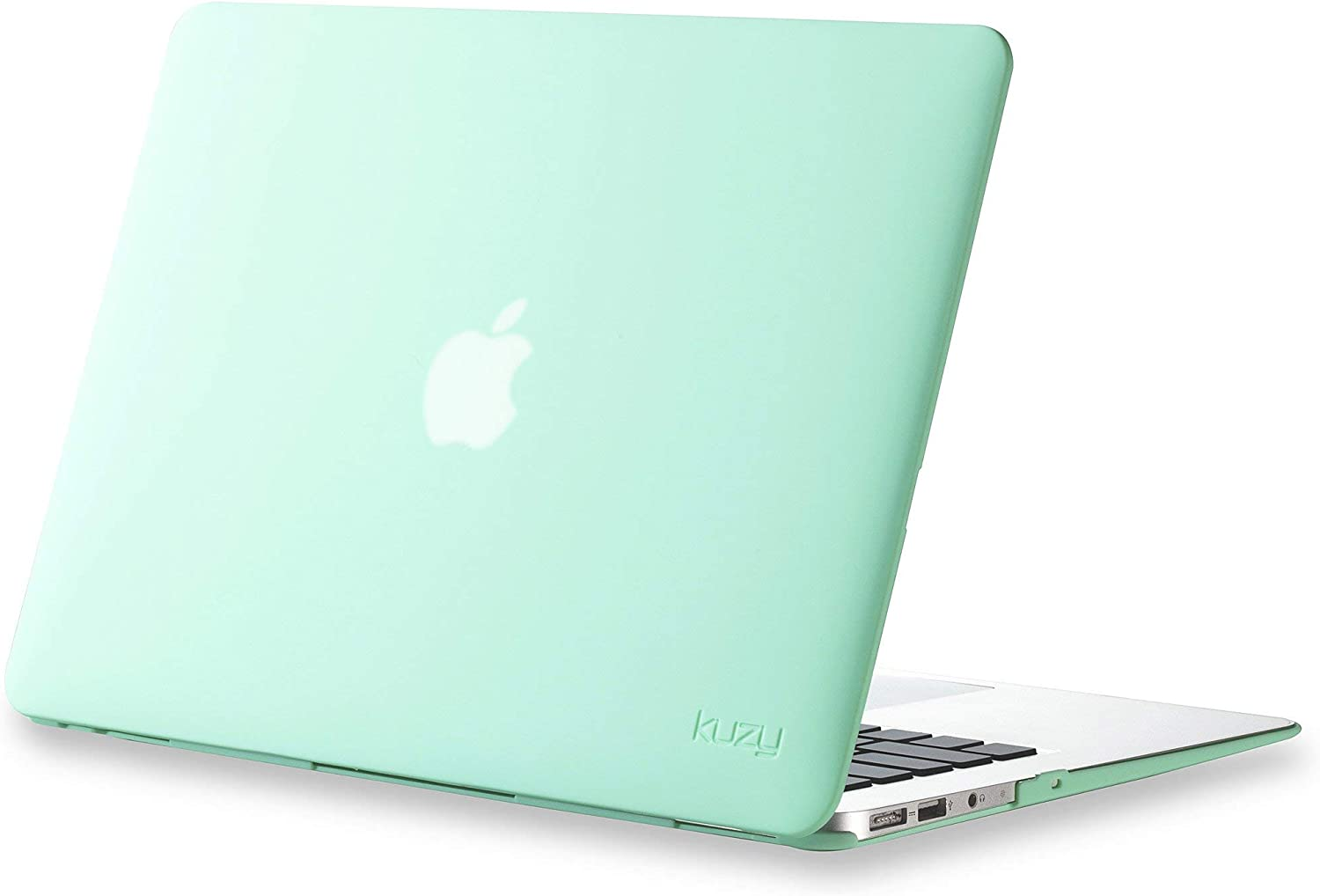 Kuzy MacBook Air 13 inch Case A1466 A1369 Soft Touch Cover for Older Version 2017 2016 2015 Hard Shell, Mint