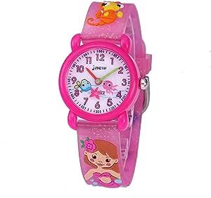 CakCity Kids Watches 3D Cute Cartoon Waterproof Silicone Children Toddler Wrist Watch Time Teacher Birthday 3-10 Year Boys Girls Little Child