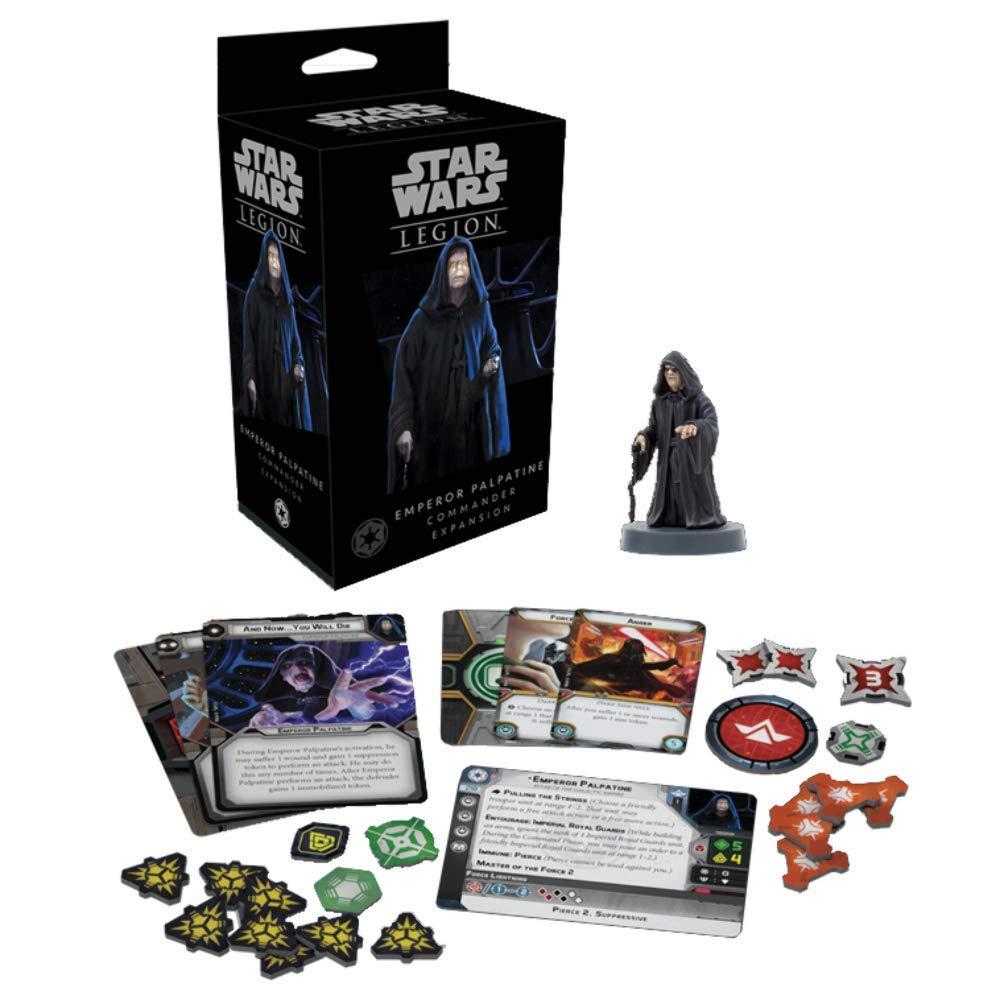 FFG Star Wars Legion Emperor Palpatine Asmodee FFGSWL22
