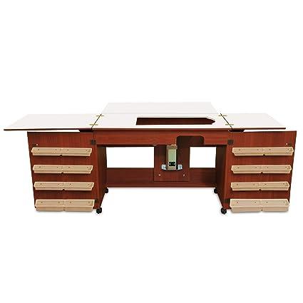 Amazon Arrow Cabinet 40 Bertha Sewing Cabinet Cherry Beauteous Bertha Sewing Machine Cabinet