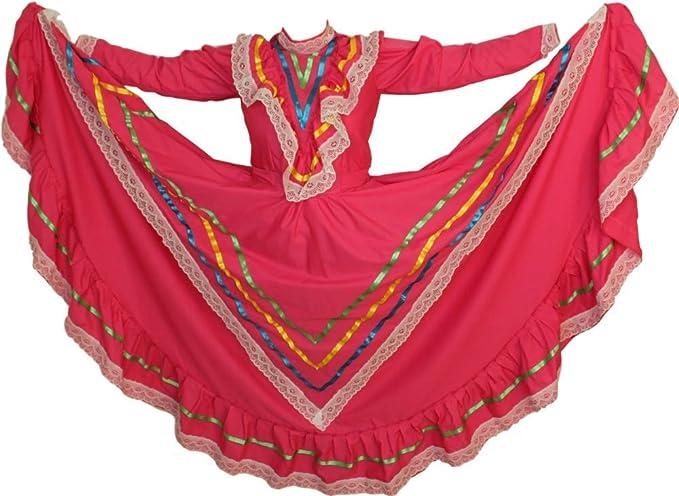 Mexican Traditional Dress Tapatio Jalisco Vestido Tipico Mexicano