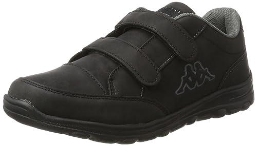 Kappa Comfit Velcro, Scarpe da Ginnastica Basse Donna, Nero (1111 Black),