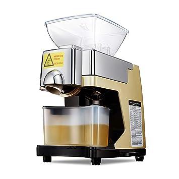 IDABAY Máquina de Prensa de Aceite Automática Expulsor de Aceite Doméstico Exprimidor Inteligente de aceites Eléctrica en caliente o frío temperatura ...