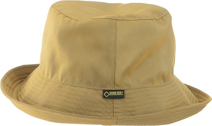 Weatherlee Iridescent Packable Gore-tex Bucket Hat for Rain or Sun (Black) ba657431488