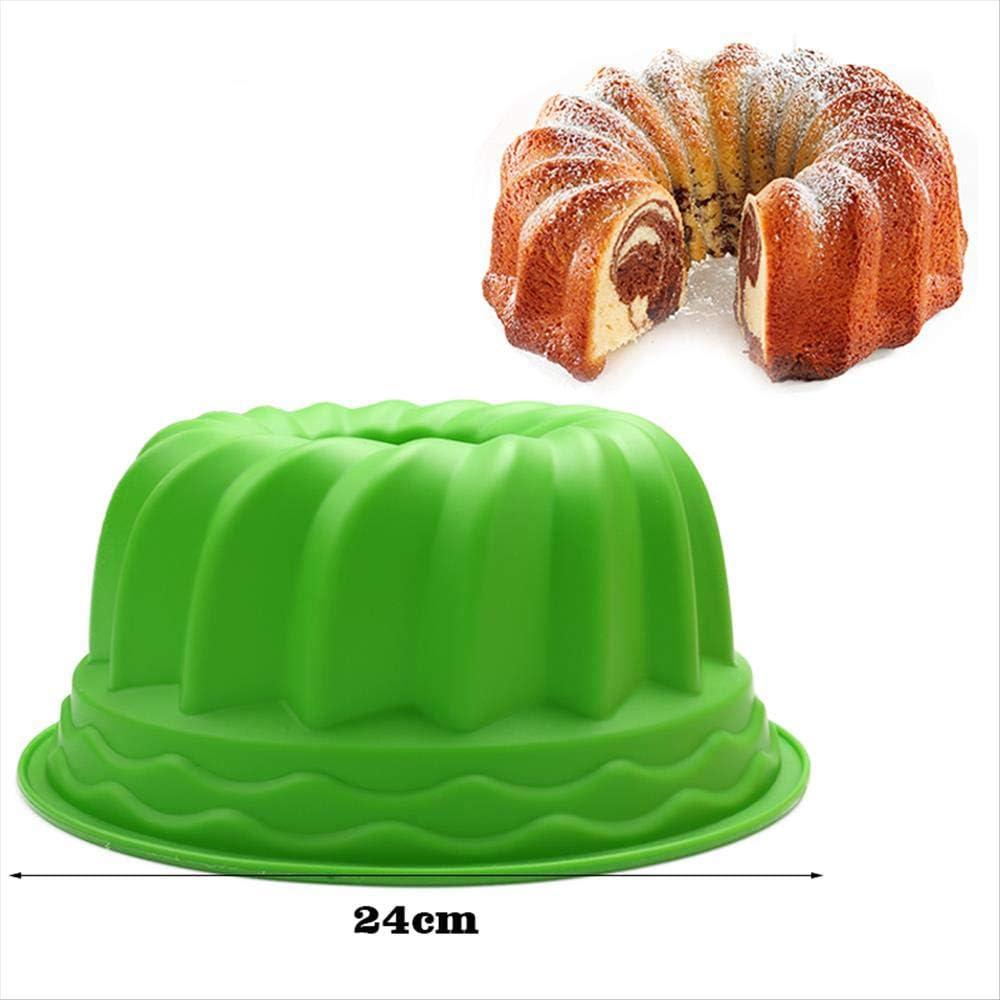 SWHV Molde de Silicona en Forma de Espiral de Gran tamaño ...