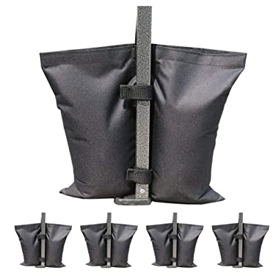 GZAIL Weight Bags for Pop up Canopy Outdoor Shelter, Instant shelter Leg Canopy Weights, Sand Bags(4 PCS) : Garden & Outdoor