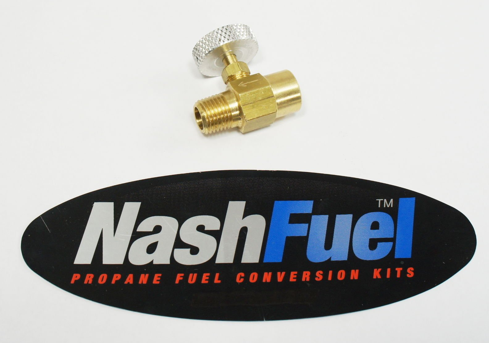 1/4'' NPT Pipe Thread Adjustable Needle Valve Propane Natural Gas Torch Burner LP