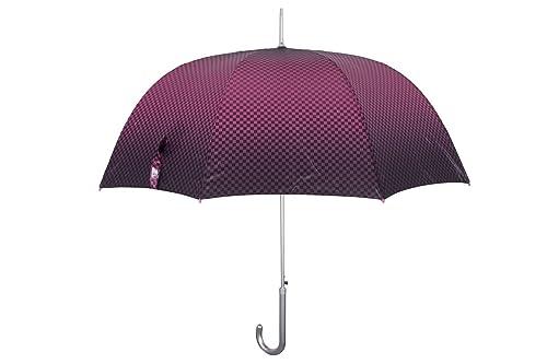 Paraguas mujer largo PERLETTI TECHNOLOGY fantasía fucsia automático Q655