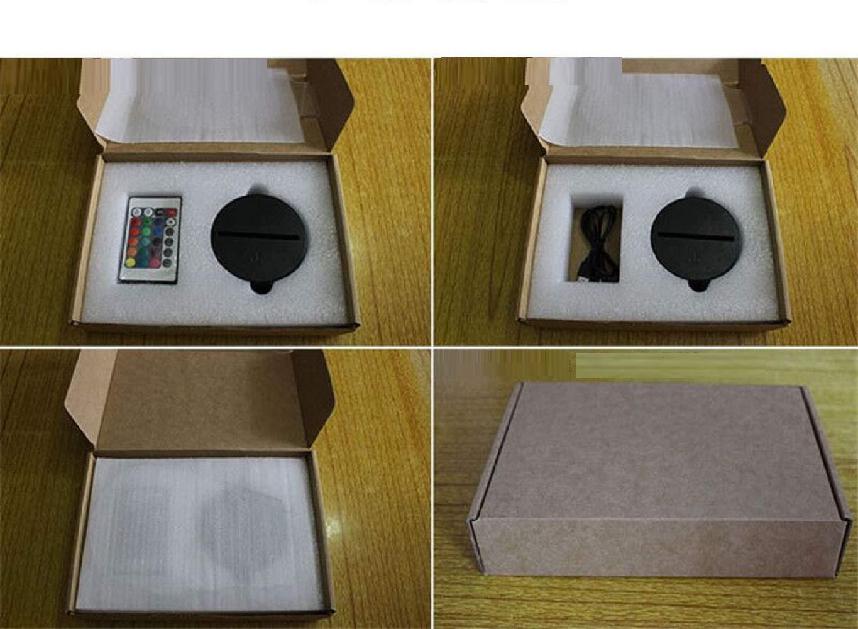 Bbdeng Bbdeng Bbdeng 3D-Nachtlicht Energie Sparen LED-Touch-Farbe Beleuchtung Kreative Kinder Schlafen Tischlampe USB Oder Batterie Traktor Conventional f67a89