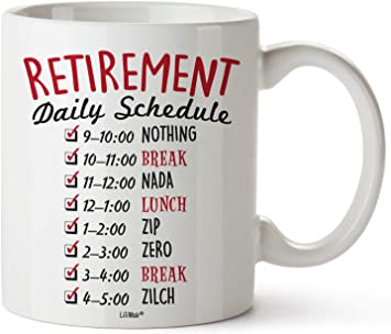 Retirement Firefighter Mug