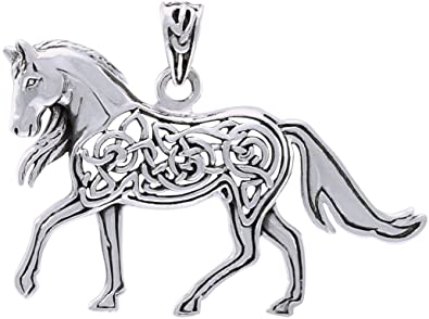 Amazon jewelry trends sterling silver celtic horse pendant jewelry jewelry trends sterling silver celtic horse pendant aloadofball Images