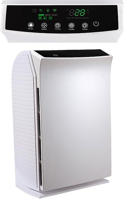 Purificador de aire HEPA B-C03 de hasta 50 M² 6-en-1 con PM2, 5 ...