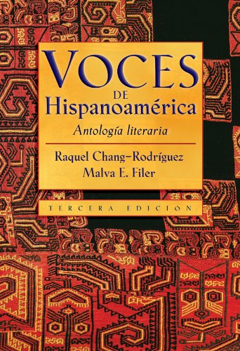 Voces de Hispanoamerica: Antologia literaria (Spanish Edition) by Brand: Thomson/Heinle