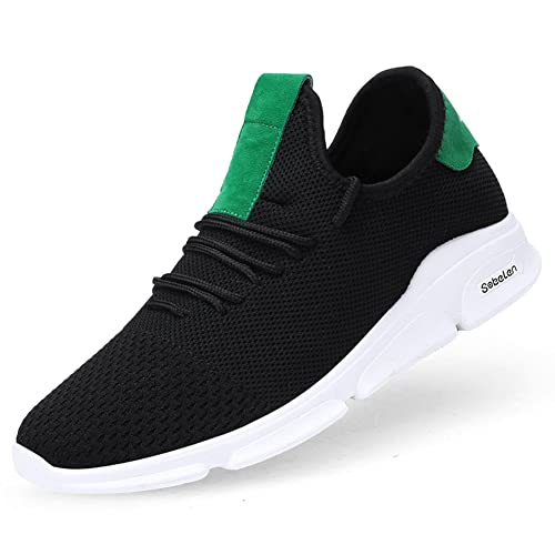 Amazon.com | OHCHSH Mens Lightweight Running Shoes Athletic Breathable Mesh Sneakers Flying Knit Casual Walk Shoes | Road Running