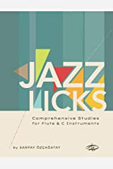 Jazz Licks: Comprehensive Studies Paperback