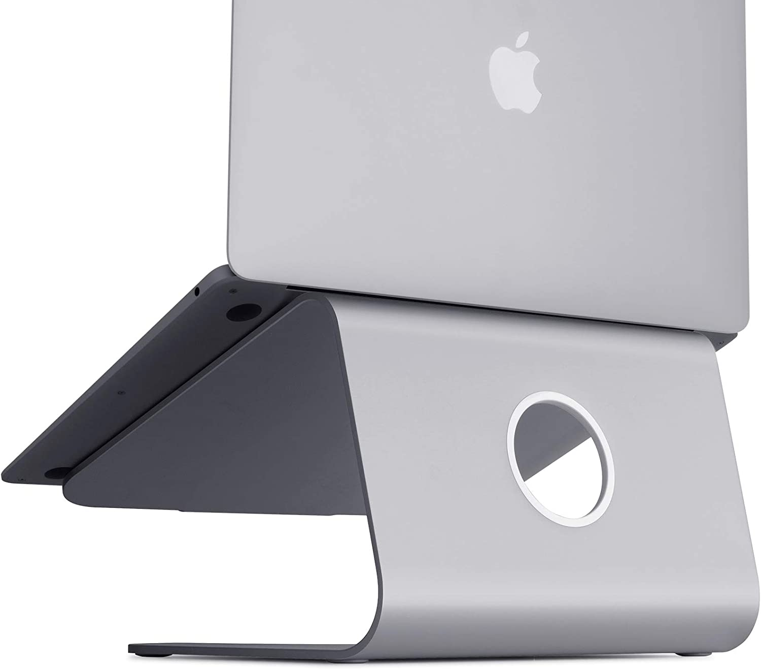 10073 Gold mStand360 Laptop Stand with Swivel Base