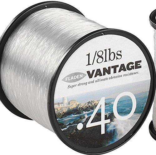 extra fuerte Fladen Vantage Pro rojo Rollo de cuerda monofilamento para carretes de pesca