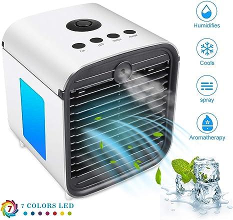 Ventilador Aire Acondicionado Personal, Portátil Refrigerador de ...