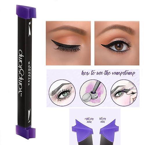 haosshop sello sello Delineador de ojos líquido maquillaje de ojos con cepillo Set fácil uso
