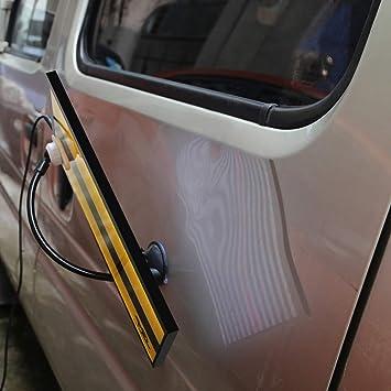 HIP TEC Kit de reparación de abolladuras sin pintura, para Eliminar las Abolladuras de Coche, kit de extracción de abolladuras de puente: Amazon.es: Coche y moto