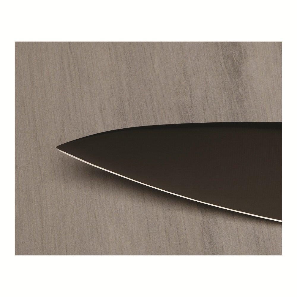 Kuhn Rikon 4-Inch Colori Titanium Paring Knife, Black/Silver by Kuhn Rikon (Image #4)