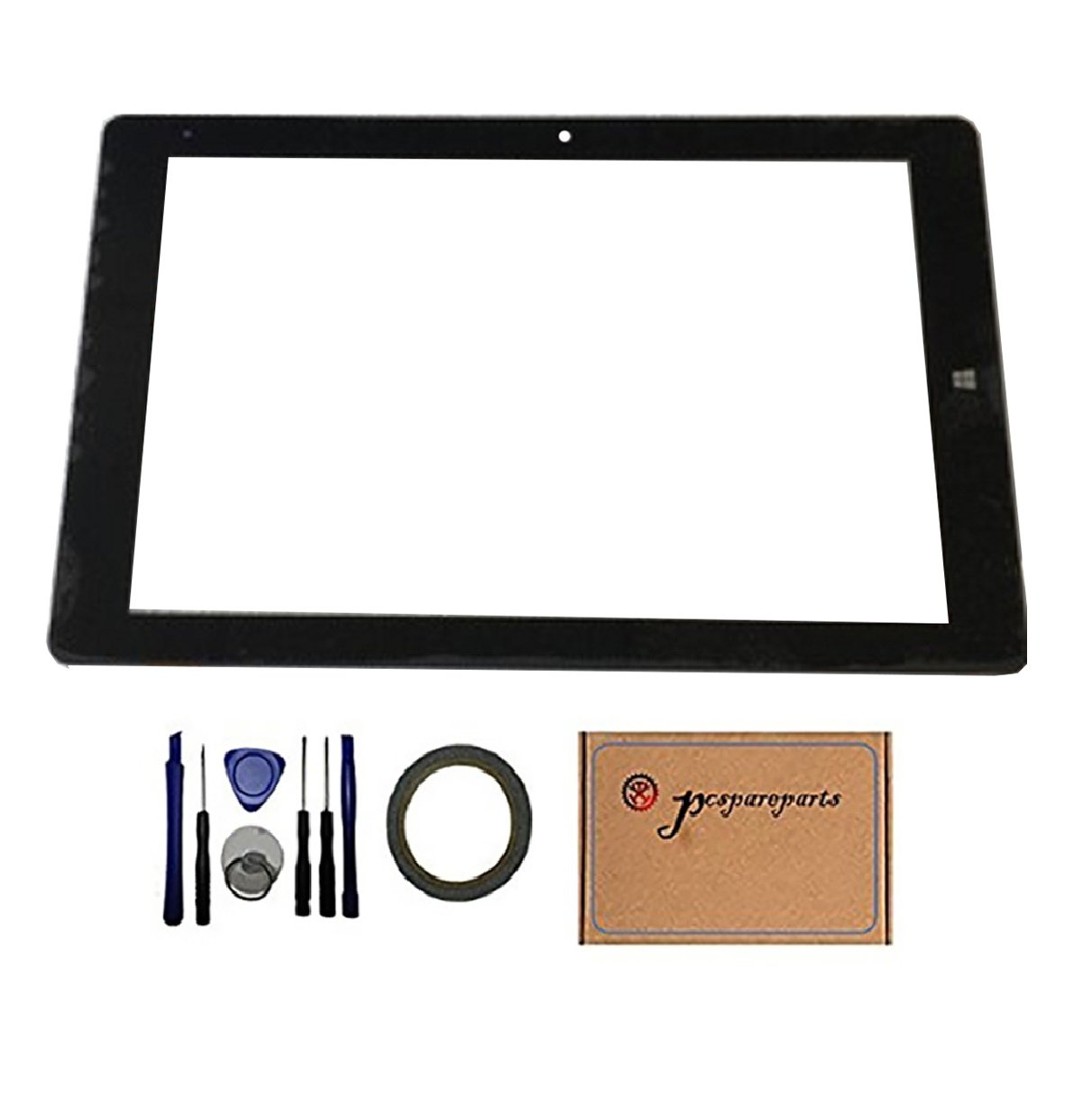 Pcspareparts New Replacment Digitizer Touch Screen Glass Panel for CHUWI Hi10 Pro CW1529 Tablet PC
