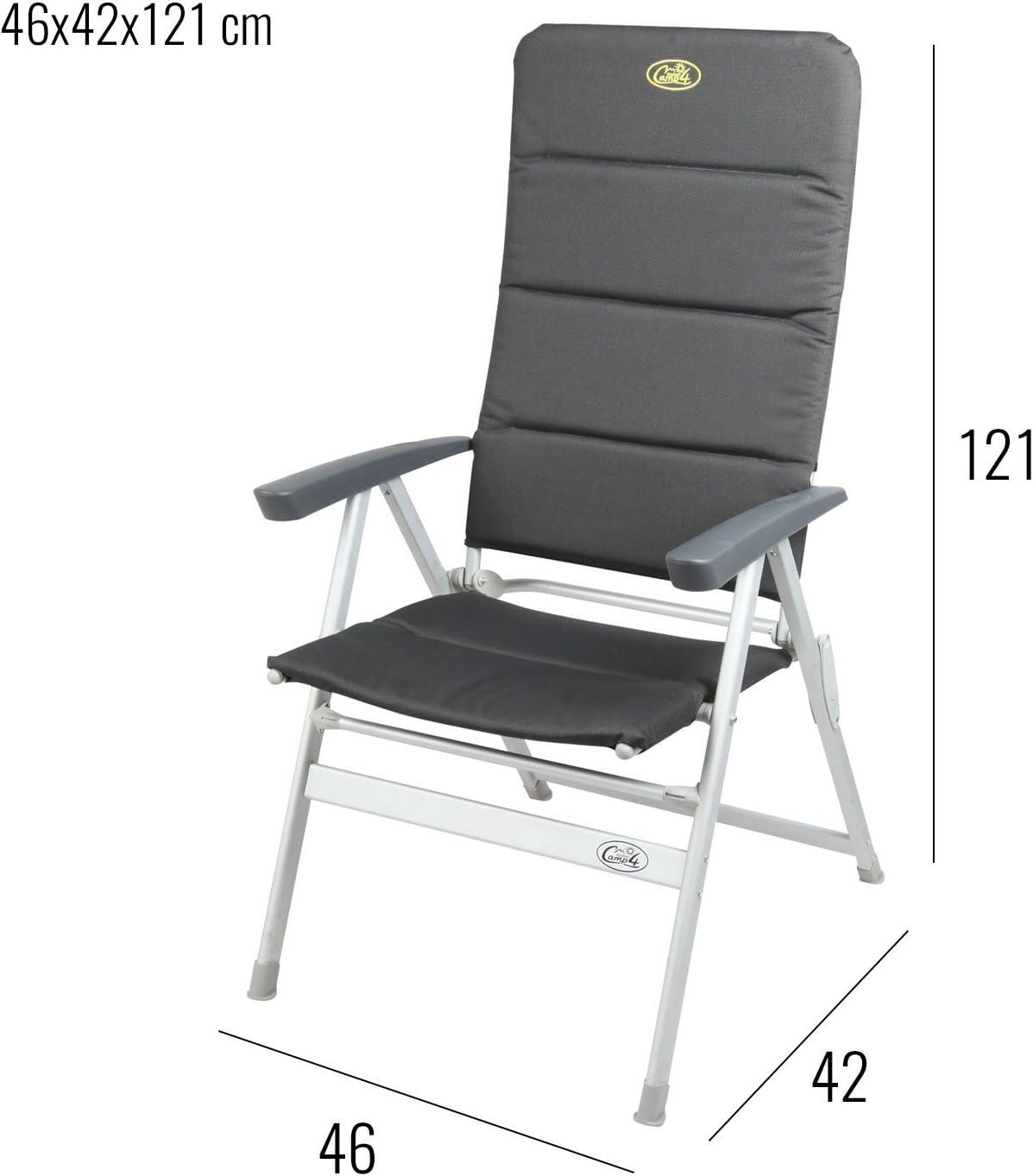 Set Di Mobili Da Campeggio Con Tavolo E 4 Sedie Grenoble 1 Tavolo Titan Space Ideale Per Roulotte E Camper Amazon It Giardino E Giardinaggio