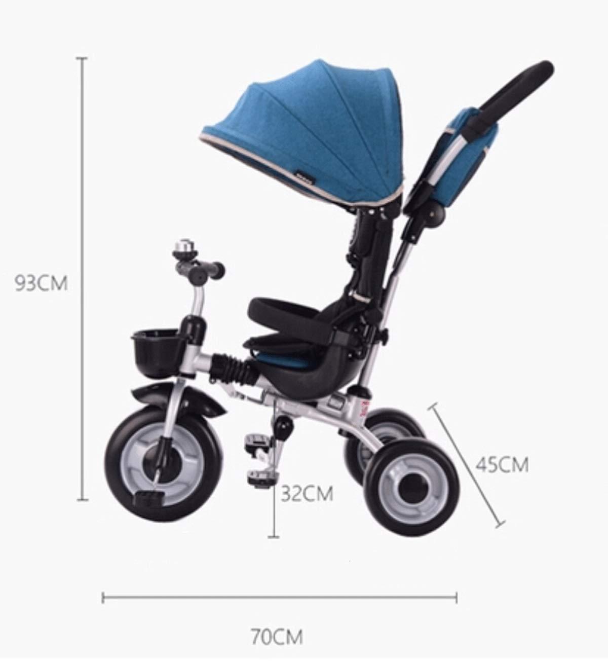 Baianju Triciclos Infantiles Plegables Cochecitos para Bebés Bebés ...