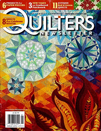 Quilters Newsletter Magazine No. 419 - December/January 2011 (Volume 41, No. 6)