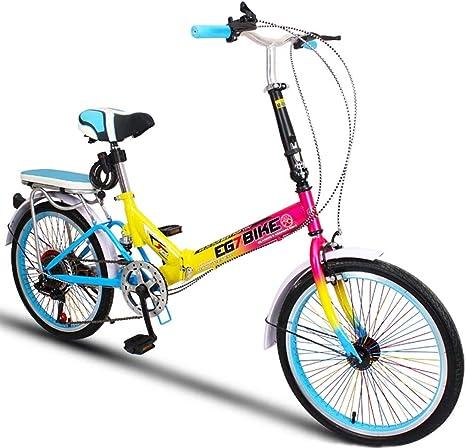 Xiaoping Bicicletas Plegables Bicicleta Plegable Ultra Liviana ...