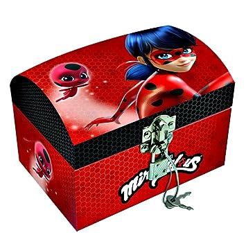 Ladybug JoyasLb17028Amazon Cofre Cartón es Disney Caja 6yYbf7g
