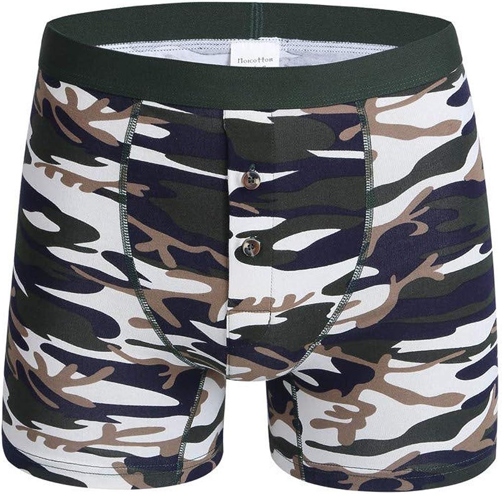 Men Hot Fashion Camouflage Colourful Comfortable 100/% Cotton Underwear Plus Size
