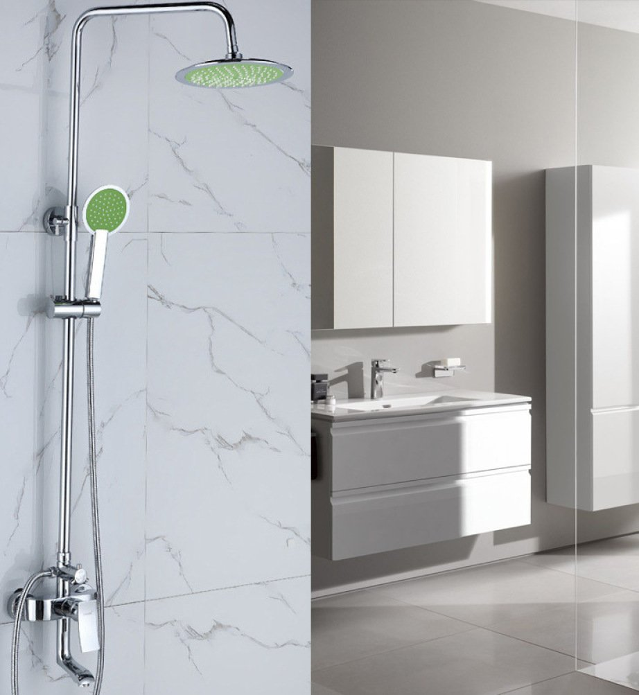 CF Shower set bathroom with drainpipe recessed bathroom multifunction hand shower