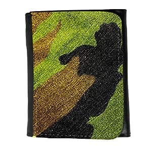 le portefeuille de grands luxe femmes avec beaucoup de compartiments // V00002451 Verde militar de caza // Small Size Wallet