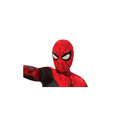 Rubie's Marvel Spider-Man Far from Home Child's Spider-Man Fabric Mask: Toys & Games