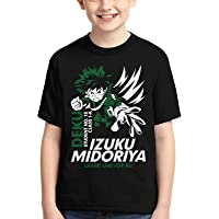 Camiseta de niño para niños, anime japonés, camiseta 3D, estampado gráfico de dibujos animados manga cosplay adolescente